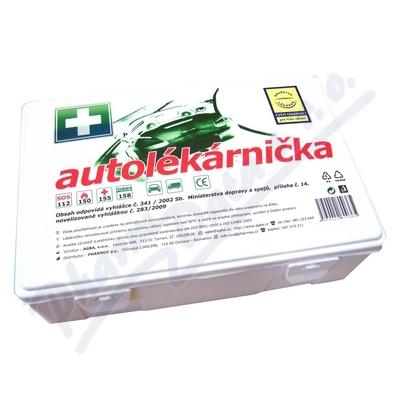Autolékárnička plastová 341/2014 DRUŽSTVO LÉKÁREN