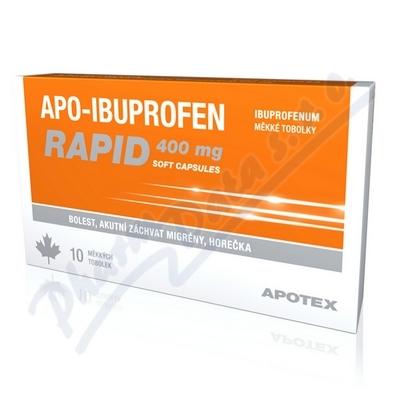APO-IBUPROFEN RAPID 400 MG SOFT CAPSULES