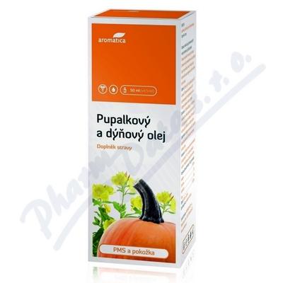 AROMATICA Pupalkový a dýňový olej MERISIN 50ml