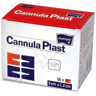 Cannula Plast 7.2cm x 5cm á 50ks - náplast
