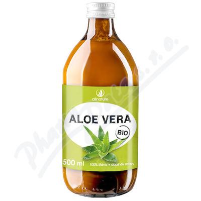 Aloe Vera BIO 100%  šťáva 500 ml