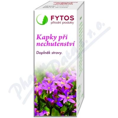 FYTOS Kapky při nechutenství 20 ml