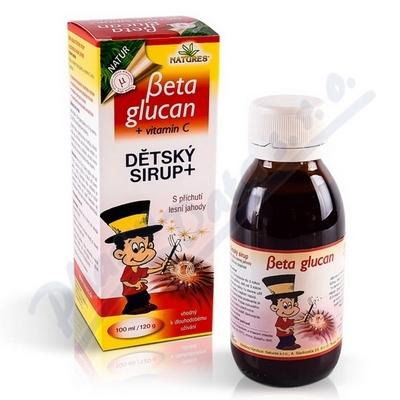 Beta Glucan Dětský sirup 100ml/120g