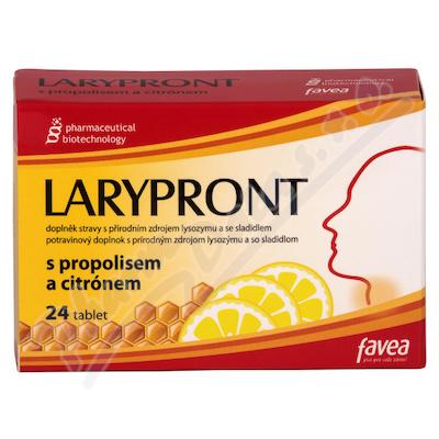 Larypront tbl.24 s propolisem a citrónem
