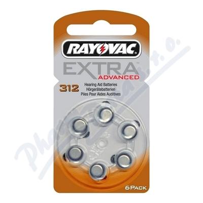 Baterie do naslouch.Rayovac Extra Adv.312/PR41 6ks
