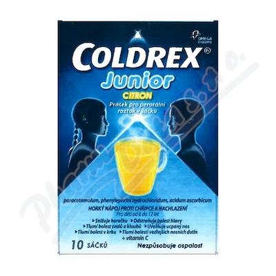 COLDREX JUNIOR CITRON