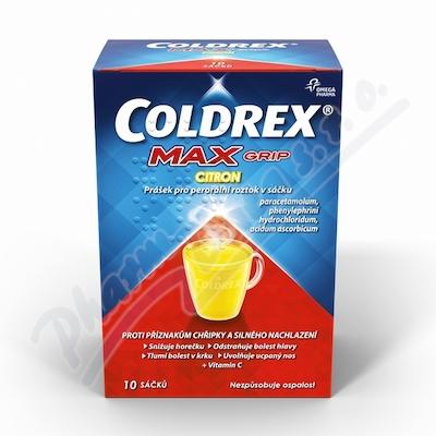 COLDREX MAXGRIP CITRON