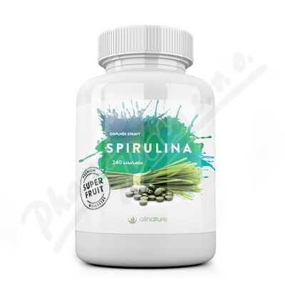 Allnature Spirulina tablety BIO 240 tbl.
