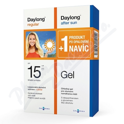 Daylong regular SPF 15 200ml + After Sun Gel NAVÍC