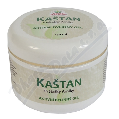 Kaštan bylinný gel 250ml Herbal Harmony