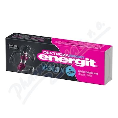 Energit Dextróza sport Magnézium tbl.14