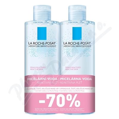 LA ROCHE-POSAY Micelární voda REACTIVE 2x400ml