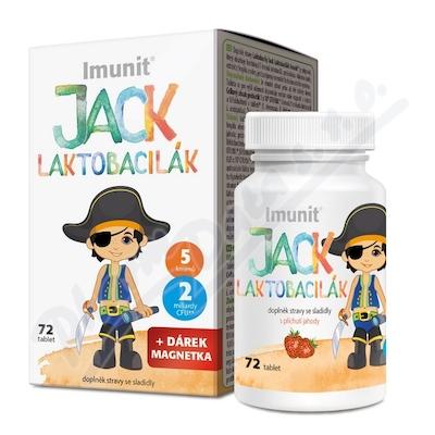 Laktobacily JACK LAKTOBACILÁK IMUNIT tbl.72
