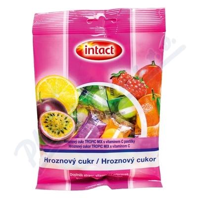 Intact hroznový cukr s vit.C tropic mix 75g(sáček)