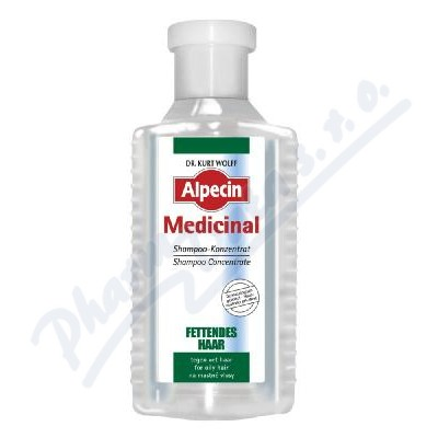 ALPECIN Medicinal koncentr.šampon na mast.vl.200ml