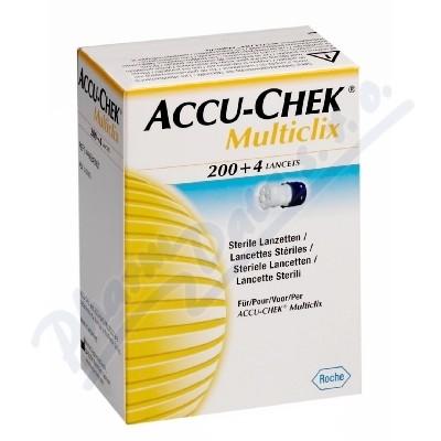 Accu Chek Multiclix Lancet 204ks jehliček
