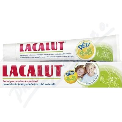 Lacalut zubní pasta dětská 4-8let 50ml