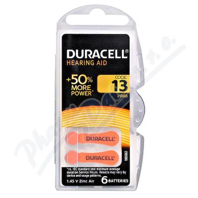 Baterie do naslouch.Duracell DA13P6 Easy Tab 6ks