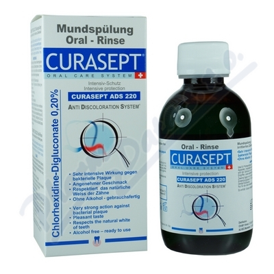 Curaprox CURASEPT ADS 220 ústní voda 200ml