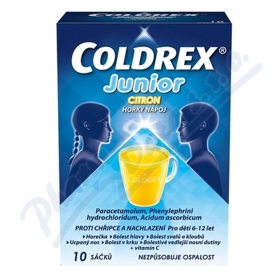 COLDREX JUNIOR CITRON
