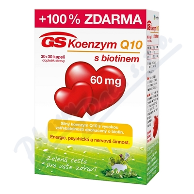 GS Koenzym Q10 60mg cps. 30+30