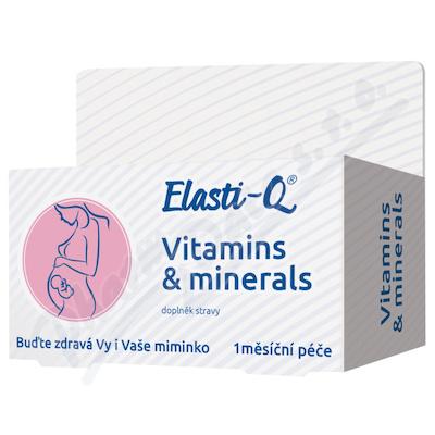 Elasti-Q Vitamins & Minerals tbl.30