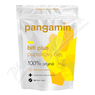 Pangamin Bifi Plus s inulinem tbl.200 sáček