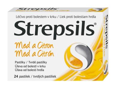 STREPSILS MED A CITRON