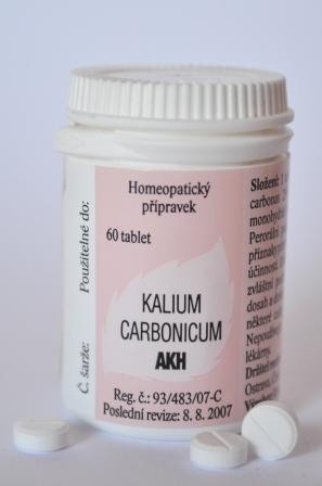 KALIUM CARBONICUM AKH 60 TBL