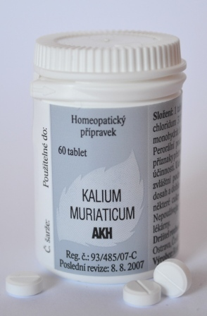 KALIUM MURIATICUM AKH 60 TBL