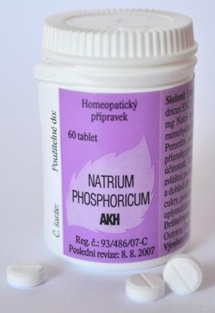 NATRIUM PHOSPHORICUM AKH 60 TBL
