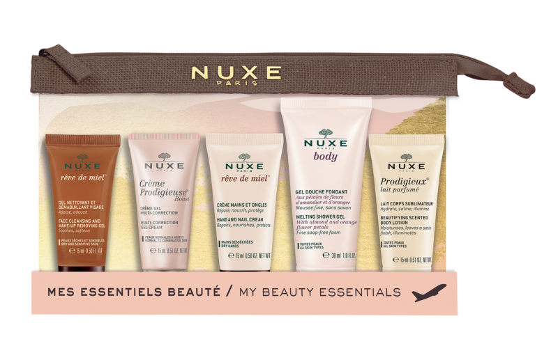 NUXE Travel kit 2019 5x beauty minis - kosmetika na cesty,mini balení ,balení ne cesty,