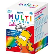 The Simpsons Multivitamin želé 50ks