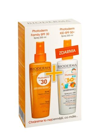 BIODERMA PHOTODERM FAMILY spr. SPF30  + KID spr.SPF50+
