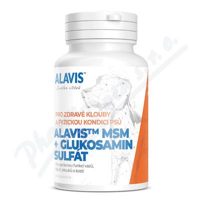 Alavis MSM+Glukosamin sulfát tbl.60 - Veterinární přípravky a potřeby pro vaše mazlíčky.