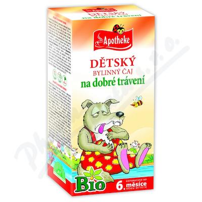 Apotheke Dětský čaj na dobré zažívání 20x1.5g n.s.