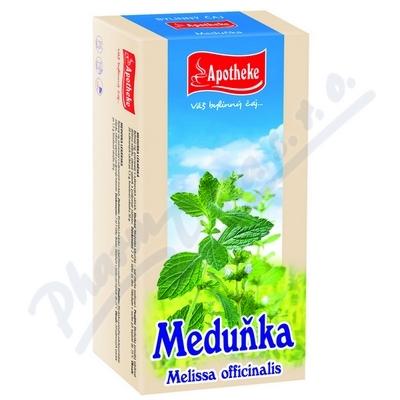 Apotheke Meduňka lékařská čaj 20x1.5g n.s.