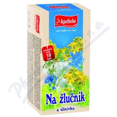 Apotheke Na žlučník a slinivku čaj 20x1.5g n.s.