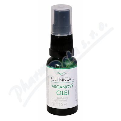Arganový olej lisovaný za studena Clinical 20 ml
