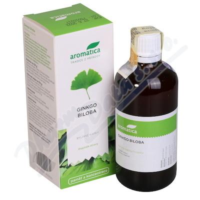 AROMATICA Ginkgo biloba bylinné kapky 100ml