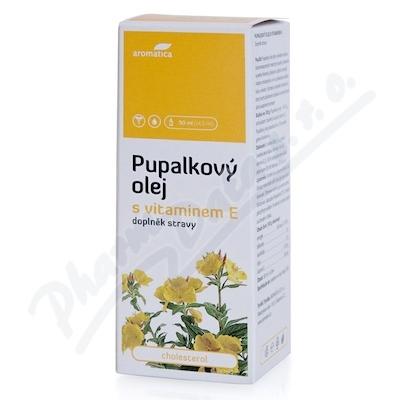 AROMATICA Pupalkový olej+vit.E 50ml