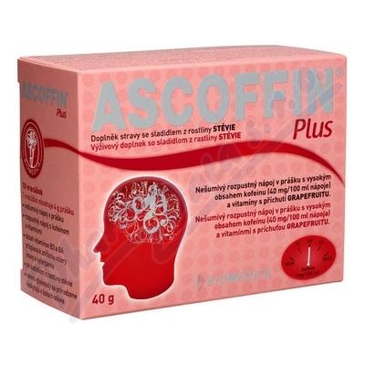 Ascoffin Plus 10 sáčků/4g