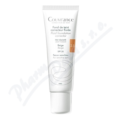 AVENE Couvrance Tekutý make-up beige (2.5) 30ml