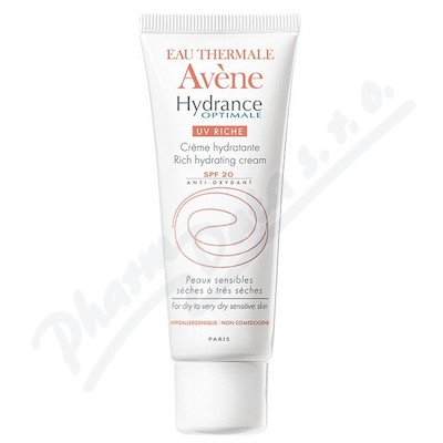 AVENE Hydrance Optimale UV 20 Riche 40ml