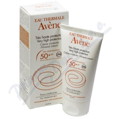 AVENE S Creme minerale 50+ 50ml-minerál.krém OF 50+