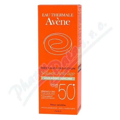 AVENE Sun Sluneční Anti-age SPF50+ 50ml - avene kosmetika,avene,avena,avene cicalfate,avene physiolift,
