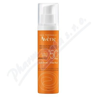 AVENE Sun Tónovací fluid SPF50+ 50ml - avene kosmetika,avene,avena,avene cicalfate,avene physiolift,