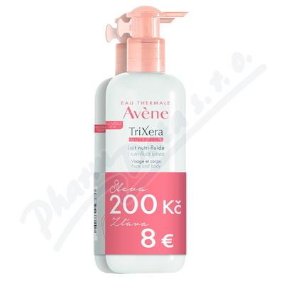 AVENE TriXera Nutri-fluid Mléko 400ml DUO
