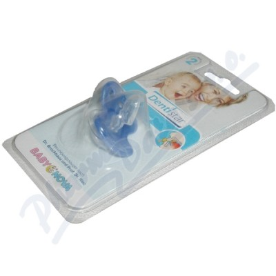 BABY NOVA Dudlík Dentistar č.2 pro děti se zoubky