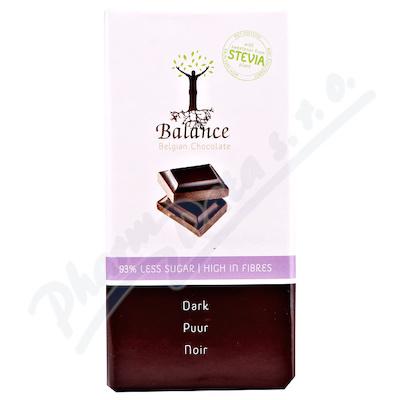 Balance Hořká čokoláda se stévií bez cukru 85g